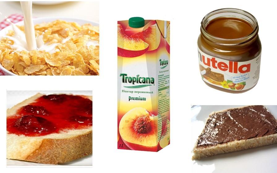 питание современных детей