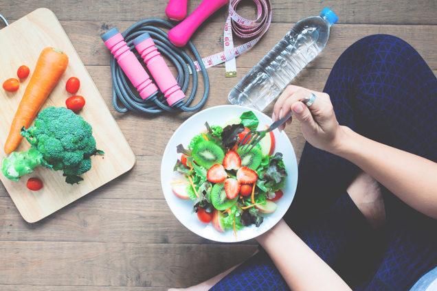 фитнес, спорт, питание