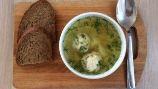 суп с фрикадельками из курицы рецепт
