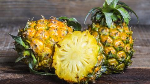 ананас, рецепты блюд из ананаса