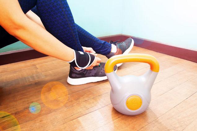 силовые нагрузки, похудеть