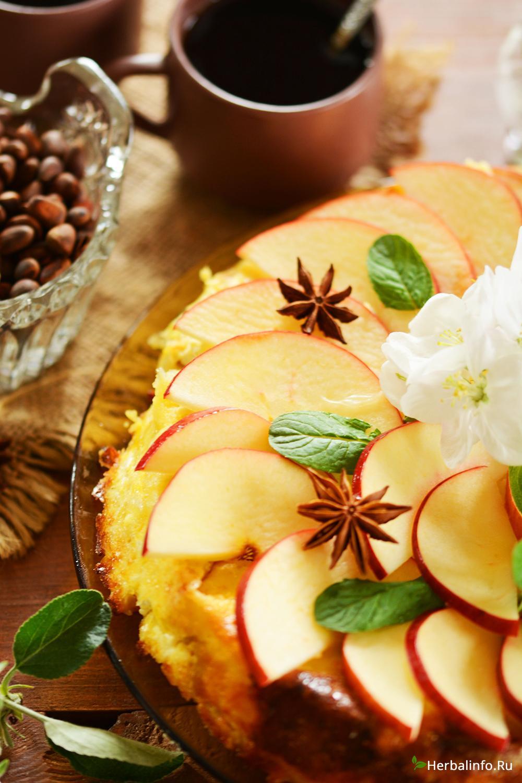 выпечка с яблоками