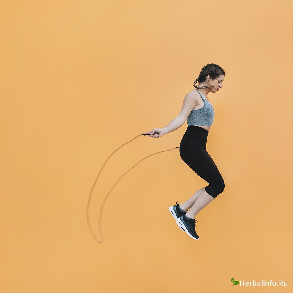 упражнения со скакалкой при похудении
