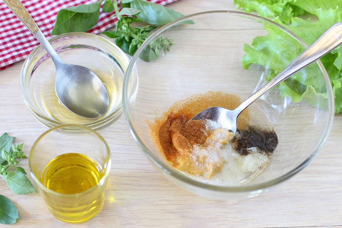 полезный салат с сыром фета