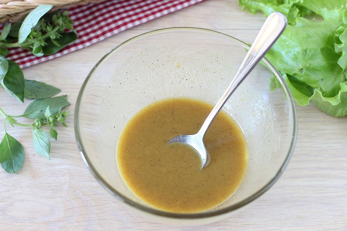 заправка к салату из оливкового масла