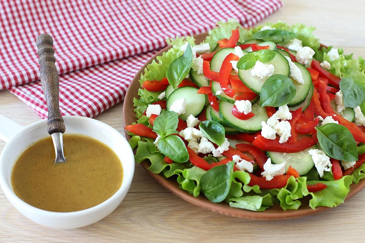 рецепт салата с сыром фета