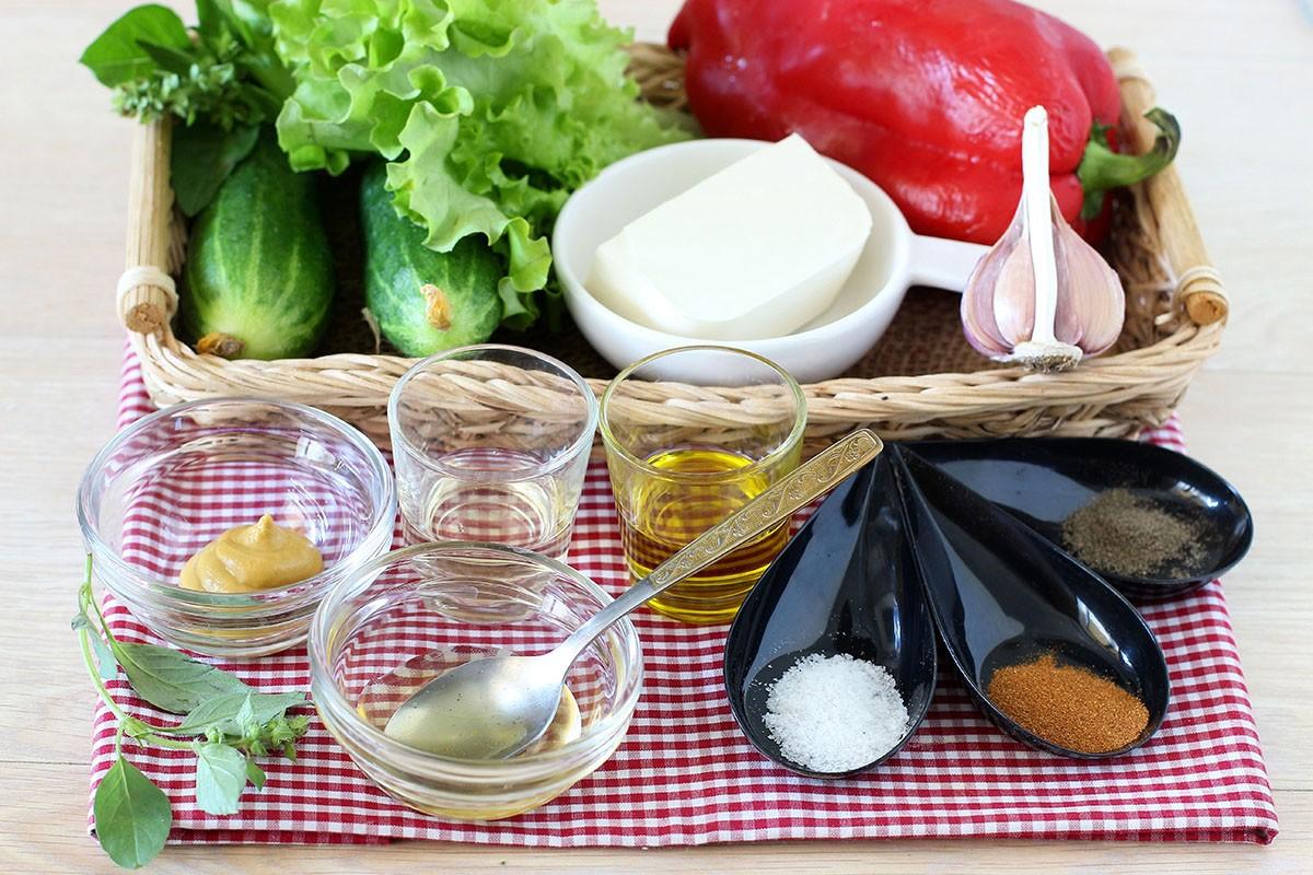 салат с фетой рецепт