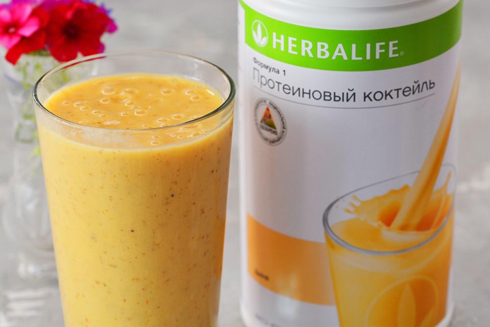Гербалайф белковые коктейли для похудения