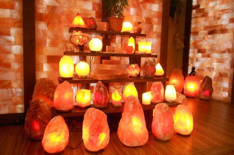 лампы из гималайской розовой соли: как отличить подделку