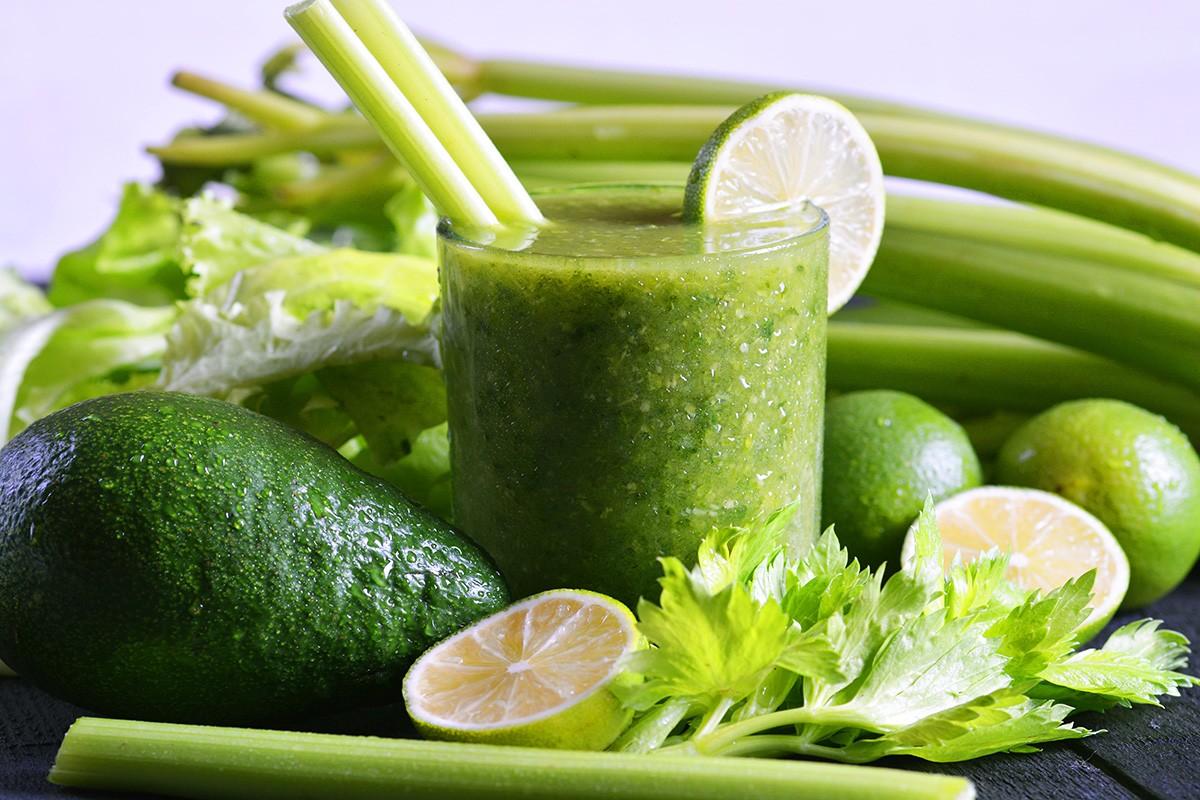 рецепт зелёного смузи