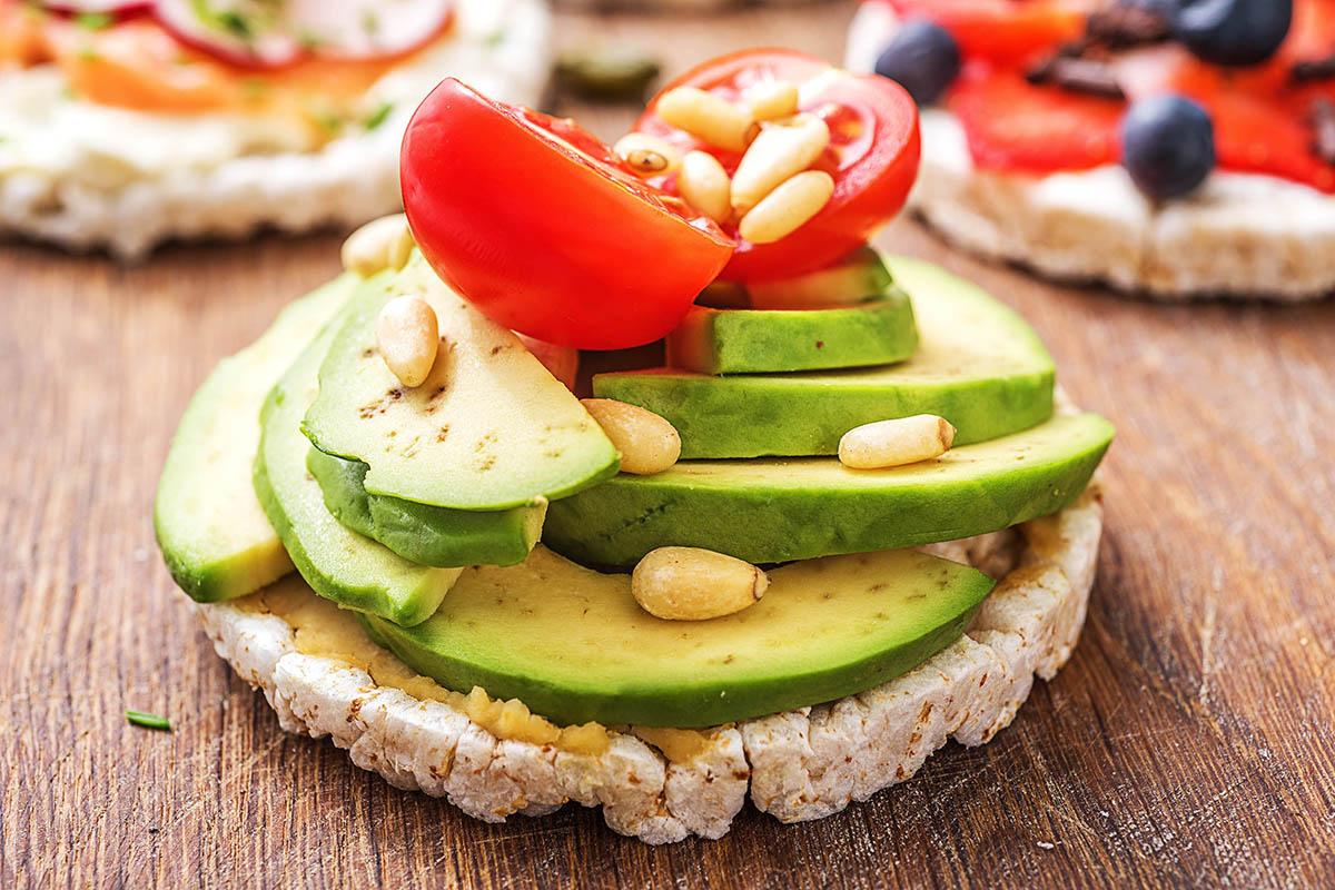закуски для веганов и вегетарианцев