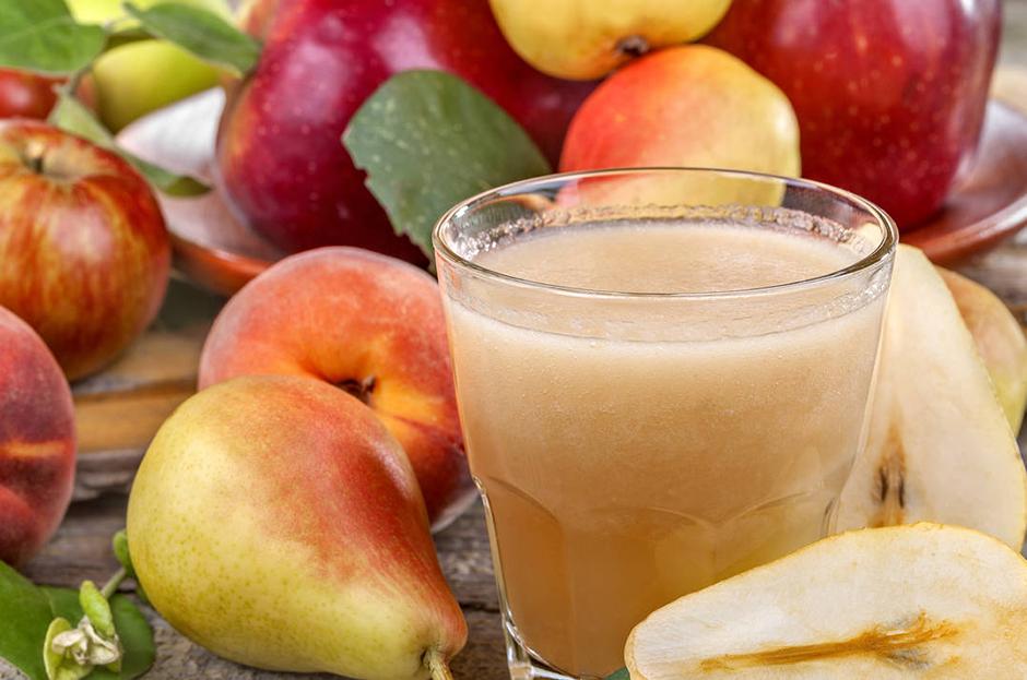 Готовим с Гербалайф: Вечерний коктейль + яблоко с грушей и лимон