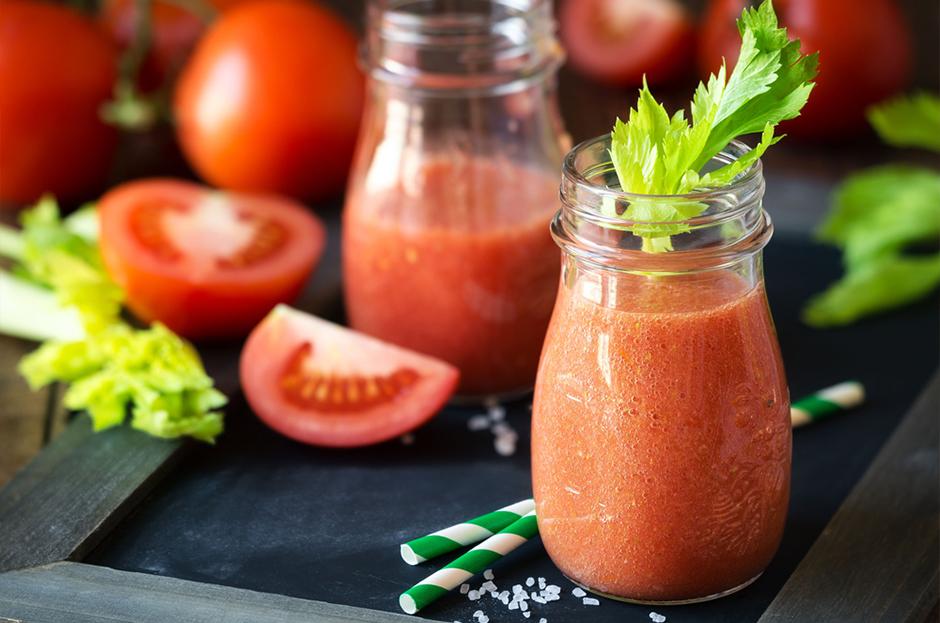 Рецепт с Вечерним коктейлем и помидорами