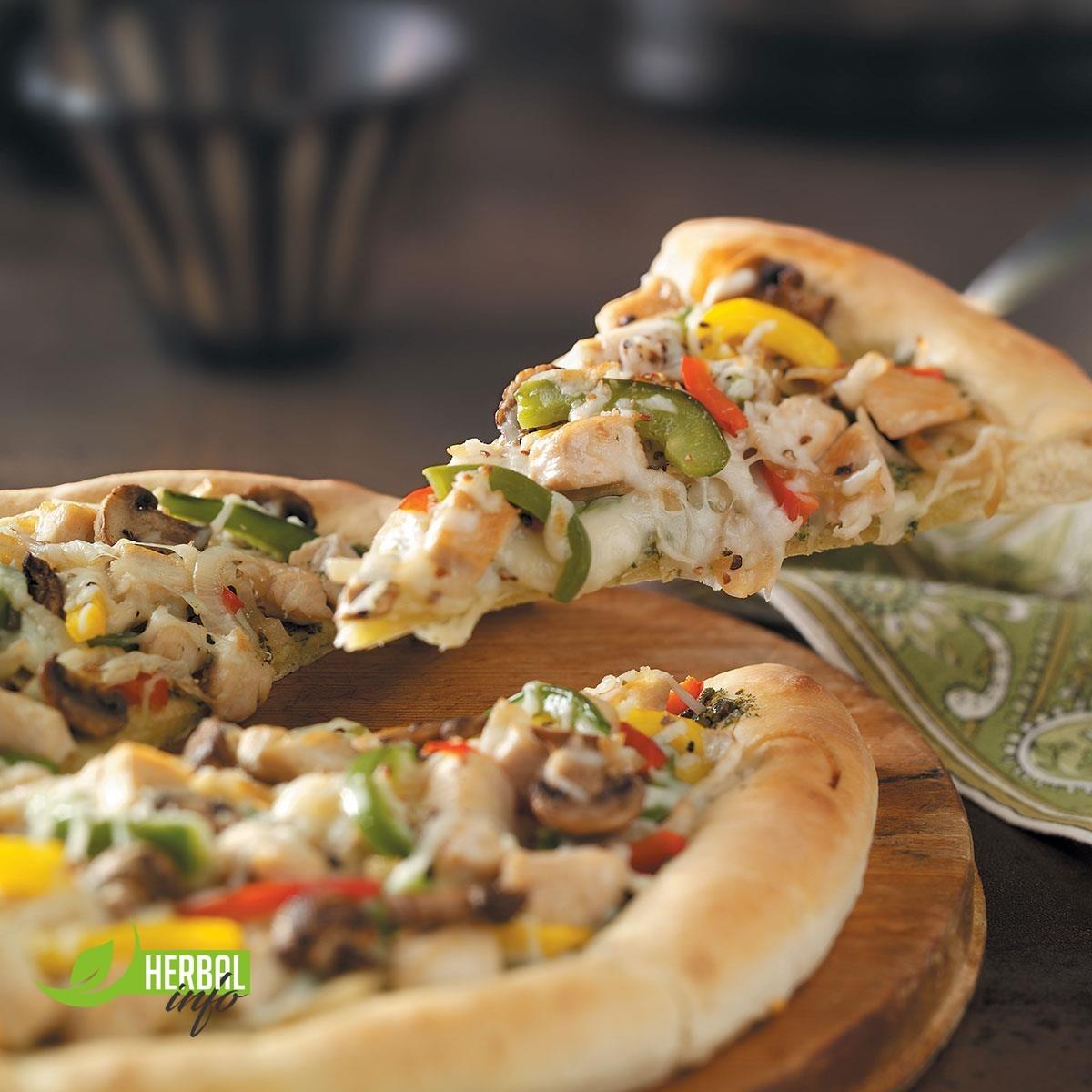 нп гербалайф рецепты пицца с курицей