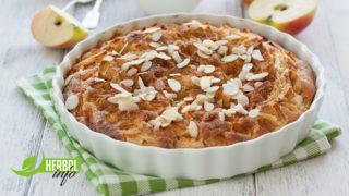 рецепт яблочного пирога книга рецептов гербалайф нп