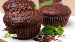 шоколадные маффины рецепт