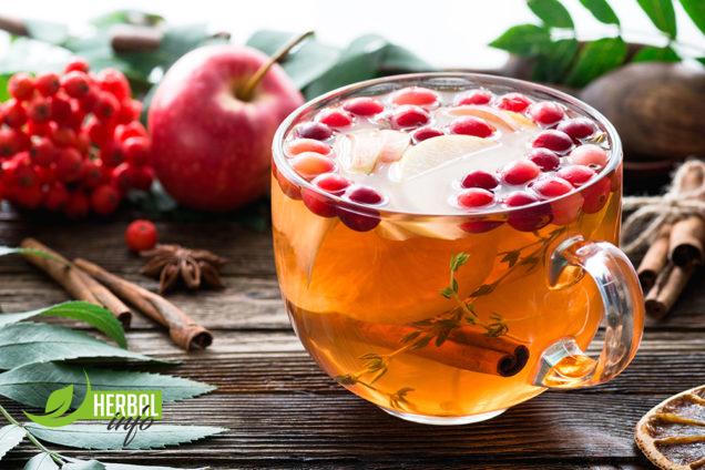 Рецепт травяного напитка, чая Гербалайф: Сладкий ноябрь