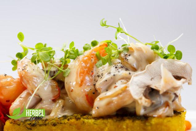 креветки на подушечке - азбука вкуса рецепты блюд