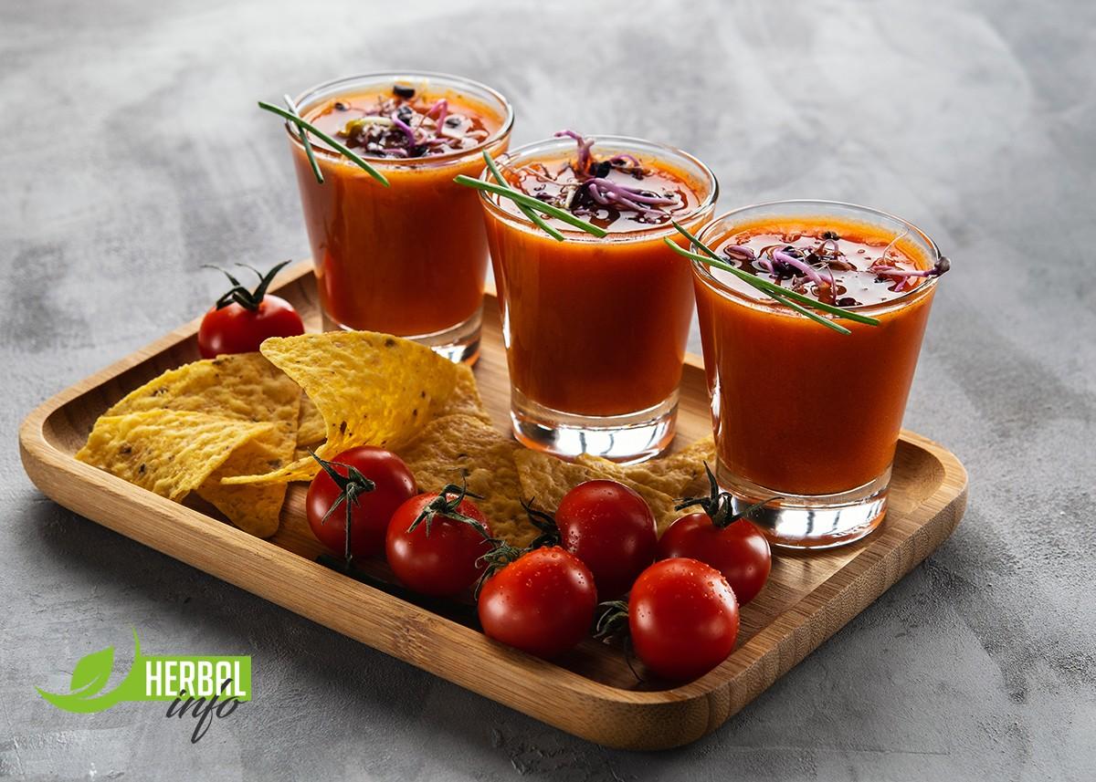 томатный суп с чипсом из маракуйи гербалайф книга рецептов