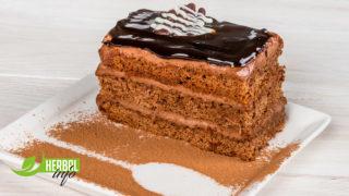 Торт «Прага» азбука вкуса гербалайф нп