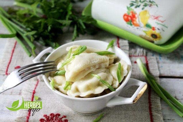 вареники с грибами рецепт с гербалайф