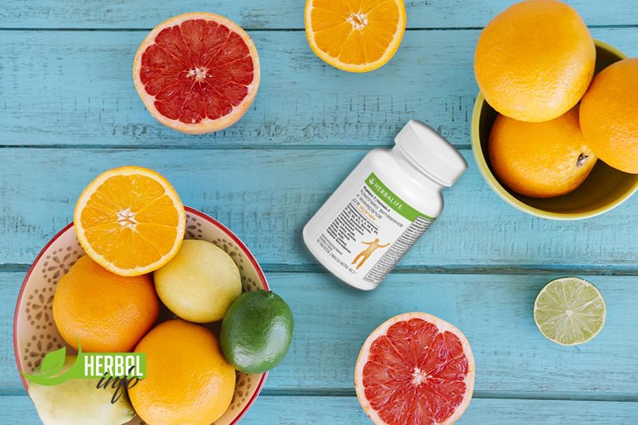 Витамин С в витаминах гербалайф