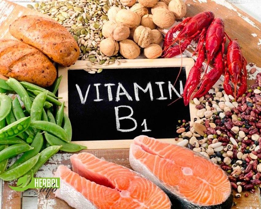 Витамин B1 тиамин в Гербалайф продуктах