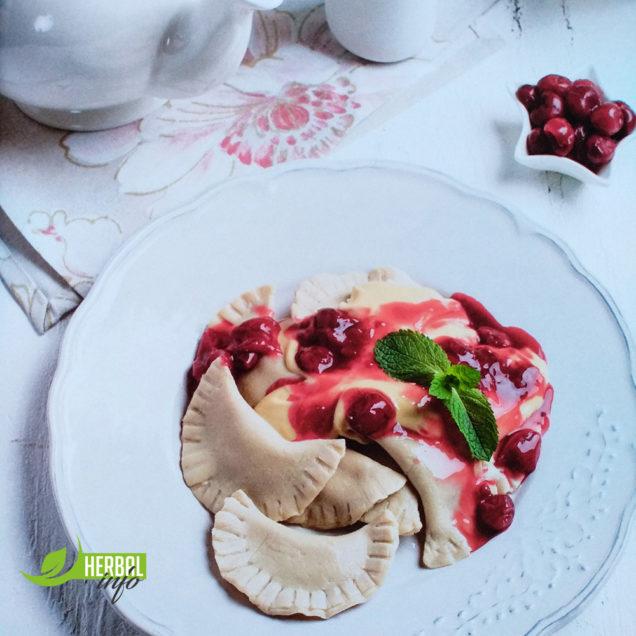 """гербалайф рецепты """"вареники с вишней"""""""