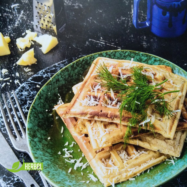 рецепт вафель с сыром гербалайф